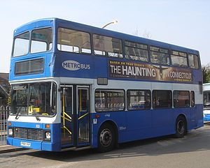 Volvo Olympian - Metrobus Northern Counties Palatine bodied Volvo Olympian at Crawley bus station in March 2009