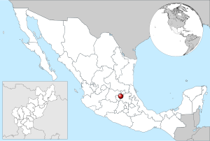 Mexico location of Queretaro.svg