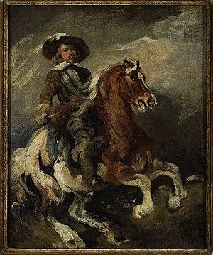 Reiter - Reiter (1800) by Piotr Michałowski