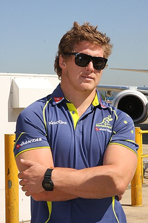 Michael Hooper (rugby union) - Hooper in 2012