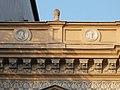 Michelangelo Buonarroti and Raffaello Sanzio, Sener House detail, Bezeredj Street, 2016 Szekszard.jpg