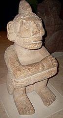 Estatuilla sedente de Mictlantecuhtli