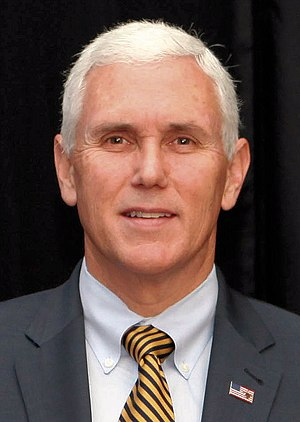 Indiana gubernatorial election, 2012 - Image: Mike Pence in November 2013