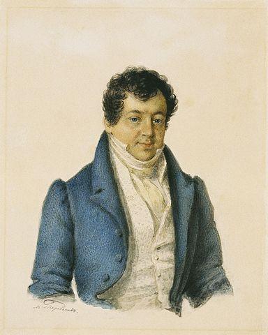 М. Теребенёв. Портрет А.&nbsp;И.&nbsp;Тургенева, <i>1830-е годы</i>