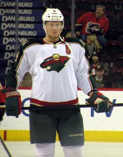 Mikko Koivu Finnish ice hockey player