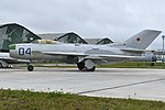 Mikoyan-Gurevich MiG-19P '04 blue' (38048422711).jpg