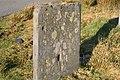 Milestone on the Gwynedd-Conwy border - geograph.org.uk - 682939.jpg