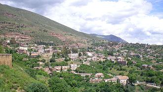 Miliana - View of Miliana