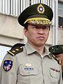Military Police (ROCMP) Lieutenant General Kao Yao-bin 憲兵中將高耀斌 (20110506 臺北市政府100年度全民防衛動員(萬安34號)暨複合型災害防救演習 15618222620).jpg