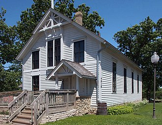 Minnehaha Grange Hall - The Minnehaha Grange Hall from the southwest