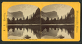Mirror Lake, depth 48 ft., Yo Semite Valley, Cal, by Reilly, John James, 1839-1894.png
