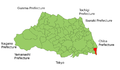 Misato City Saitama Map.png