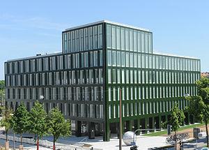 Mittelbayerische Zeitung - Headquarters of the  Mittelbayerische Zeitung in Regensburg