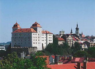 Mladá Boleslav - Castle in Mladá Boleslav
