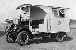 William Alexander Young - Mobile laboratory designed by Dr William Alexander Young