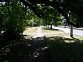 Modřanská, chodník, tramvajová smyčka Dvorce.jpg