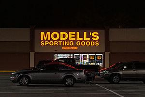 Modell's Sporting Goods - Modell's sporting goods store in Saugus, Massachusetts