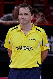 Jean-Michel Saive Belgian table tennis player
