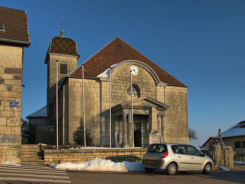 Église de la Nativité-de-Notre-Dame de Montfaucon (Inscrit)