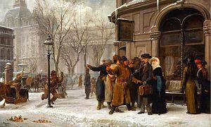 Alfred Boisseau - Image: Montreal street scene Alfred Boisseau