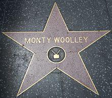 La stelo de Monty Woolley, montrante