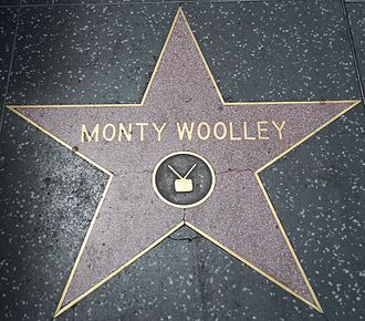 Monty Woolley - Hollywood Walk of Fame, 6542 Hollywood Blvd.
