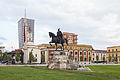 Monumento a Skanderbeg, Tirana, Albania, 2014-04-17, DD 02.JPG