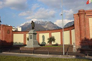 Antonio Stoppani - Monument to Stoppani in Lecco