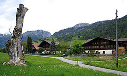 The Moos hamlet in Därstetten.