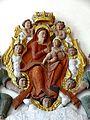 Morainvilliers (78), église Saint-Léger, bas-relief - Notre-Dame des Sept Douleurs 2.jpg