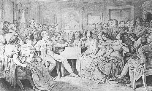 Moritz von Schwind Schubertiade large