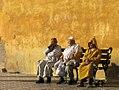 Moroccan men sitting (15748054152).jpg