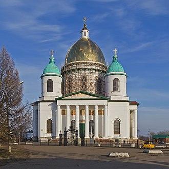 Morshansk - Image: Morshansk (Tambov Oblast) 03 2014 img 04 Trinity Cathedral