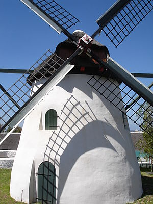 Mowbray, Cape Town - Mostert's Mill, February 2008