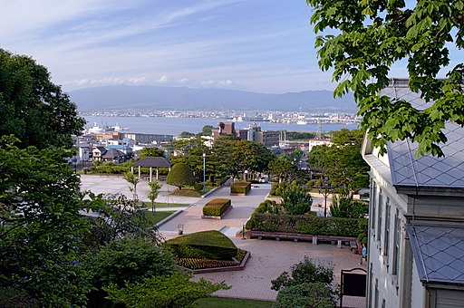 Motomachi Park Hakodate Hokkaido pref Japan02s3