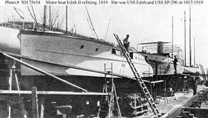 Motorboat Edith II refitting.jpg