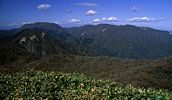 Mount Oike from Mount Ryu 2001-11-04.jpg