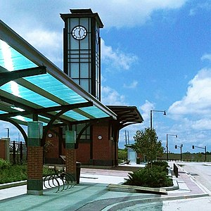 Mount Pleasant GO Station tower and canopy.jpg