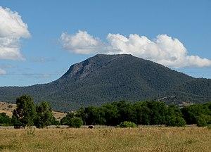 Mount Tambo - Mount Tambo viewed from Benambra