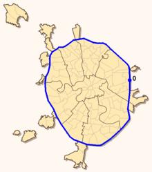Проспект Вернадского на карте.