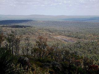 Mount Dale mountain in Australia