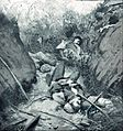Muertos en trinchera, Guerra Civil chilena de 1891.JPG