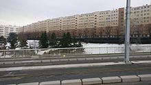 La Muraille de Chine, vue depuis le Viaduc Saint-Jacques.
