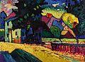 Murnau - Landschaft mit grünem Haus by Wassily Kandinsky.jpg