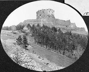 Château de Murol - The château in 1885