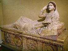 Il sarcofago di Laertia Seianti