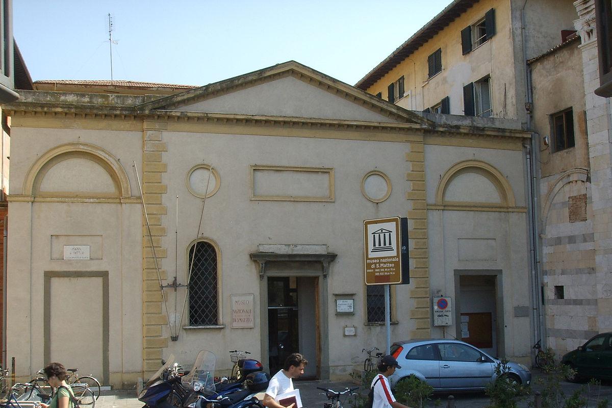 National Museum of San Matteo, Pisa - Wikipedia