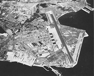 Quonset Point Air National Guard Station - NAS Quonset Point in the 1960s