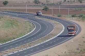 National Highway 16 (India) - Image: NH5 Ongole