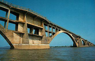 Corumbá - Bridge Rio Branco in Corumbá